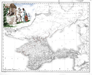Карта Таврии