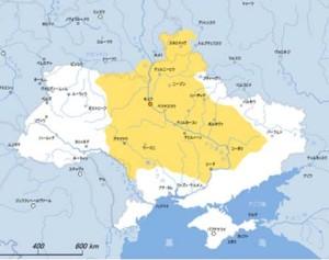 Исторические границы Украины XVII века