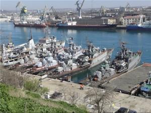 корабли и суда ВМС Украины