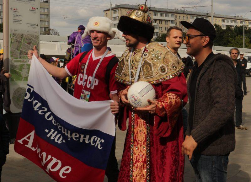 болельщики, ЧМ, футбол, Москве