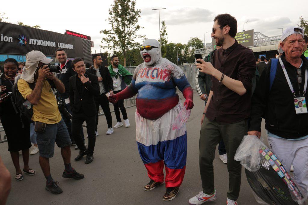 болельщики, ЧМ, футбол, Москва