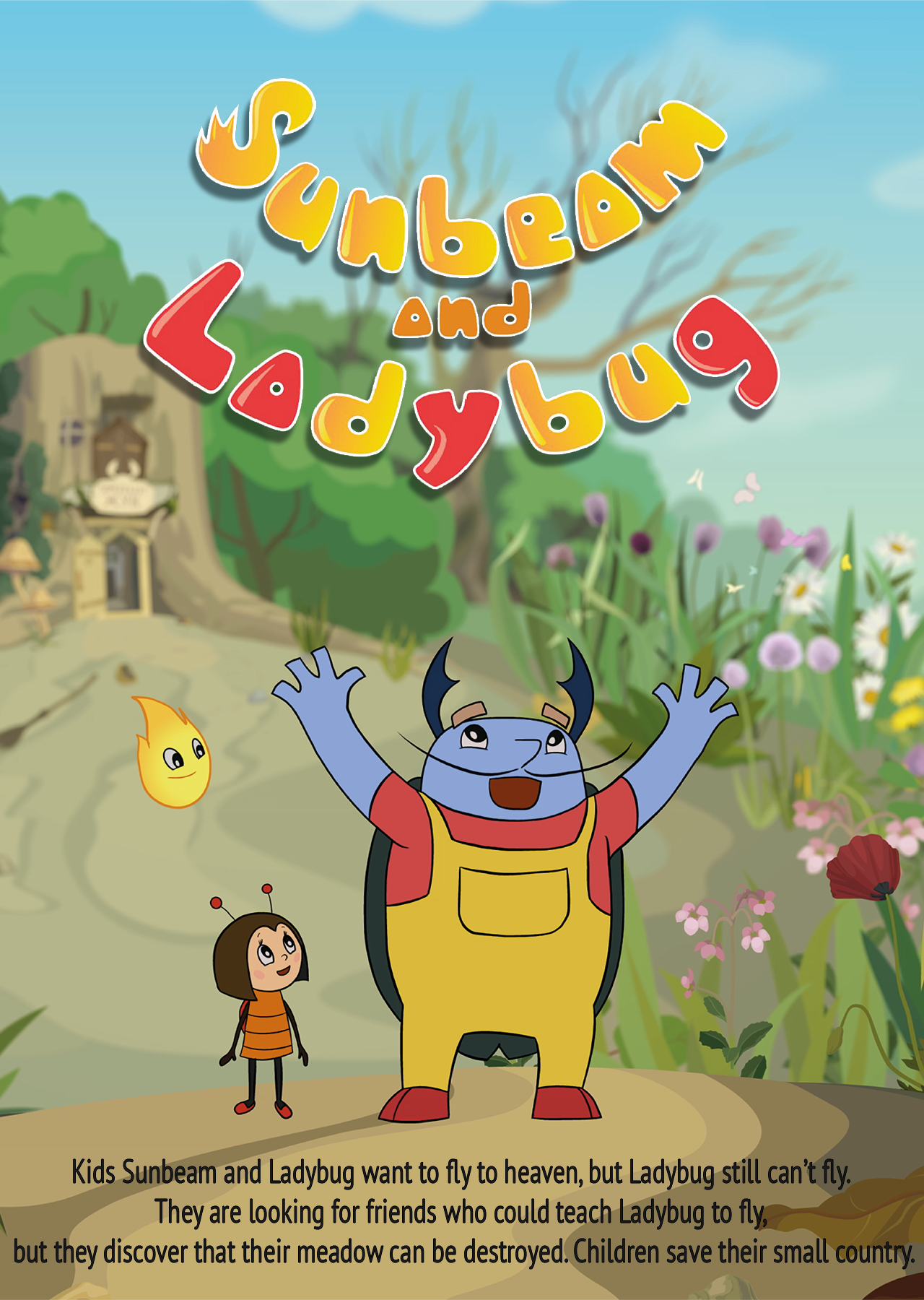 Sunbeam & Ladybug, Animated, series, Genre, animation, comedy, adventure, learning, elements, children, family