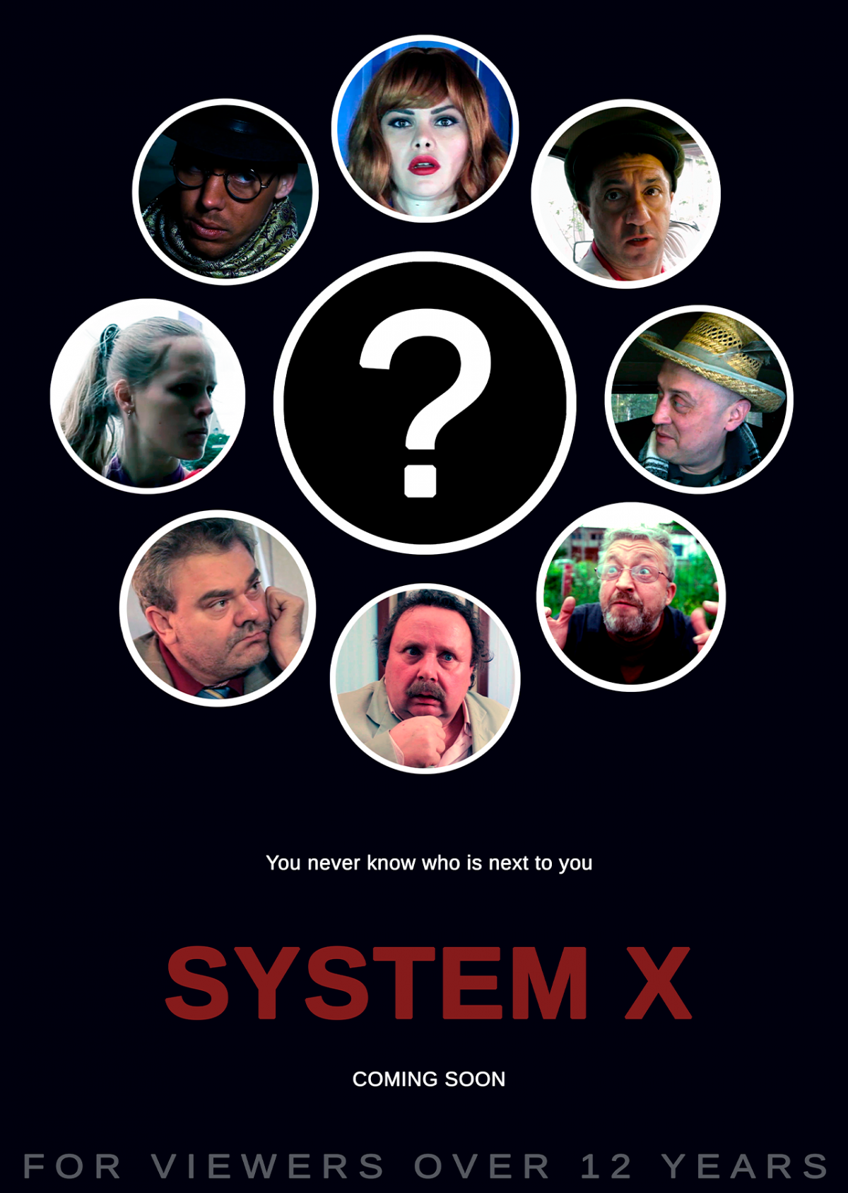 POSTER, comedy, System X